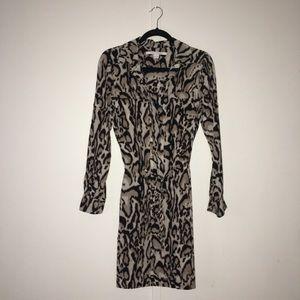 Diane von Furstenberg Silk Leopard Dress 4